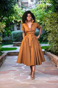Style Pantry Coco Midi Shirtdress is part of Fashion - Elegant Dresses, Pretty Dresses, Beautiful Dresses, Dresses Dresses, Casual Dresses, Summer Dresses, Formal Dresses, Wedding Dresses, Look Fashion