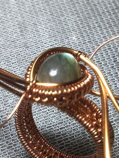 ring tutorial  No words (or at least none that I have found.  However the pictures will get you started.  The weave pattern for the band is very nice.