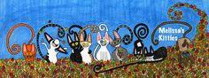 Melissa's Kitties  Ilustración