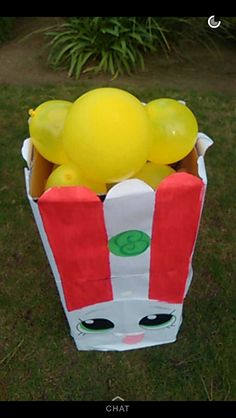 Poppy Corn shopkin party prop