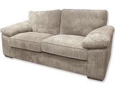 Oatmeal fine cord sofa