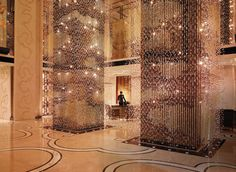 Shangri La Hotel, Beijing China: a stunning hotel with all the amenities the weary traveler could want.