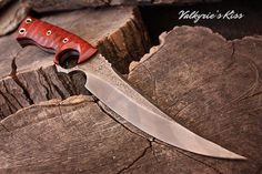 Valkyrie's Kiss, 7 3/8 blade, 1 1/2 tall, 12 1/4 overall,1 1/32 ID ring, 1/4 thick fully heat treated and tempered 5160 high carbon steel. Custom.