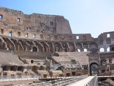 Inside the Roman Colosseum, Rome! Mount Rushmore, Rome, Mountains, Places, Nature, Travel, Naturaleza, Viajes, Destinations