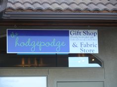 The Hodgepodge gift and fabric shop in Salida Colorado
