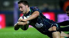 Scrumhalf Caolin Blade scored two tries on his first start for Connacht as the Irish province struck late to beat Bayonne in France.