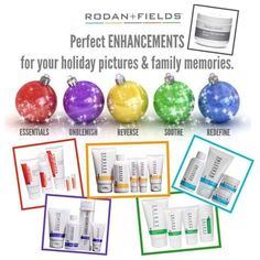 Premium skincare personalized to meet YOUR specific skincare goals.  Make this holiday season your best yet with Rodan + Fields and get your holiday shopping done right.