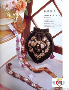 Revista japonsa con hermosos bordados y esquemas