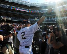 Oh Captain, my Captain. Retiring at the end of the upcoming season. Sad to see him go, but love him for all the memories. Let's make this a championship season. Go Yankees!