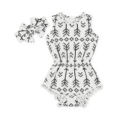 Hollyhorse Baby Girl Clothes Bodysuit Romper Jumpsuit One...