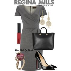 Inspired by Once Upon a Time character Regina Mills/The Evil Queen, played by Lana Parrilla.