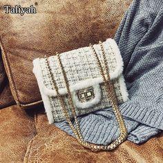 Barato Bolsas de luxo mulheres sacos de ombro designer cadeia de veludo saco  do mensageiro mini ac9468b0b6