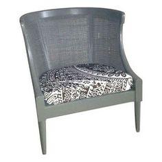 70s Vintage Cane Chair - Chairish
