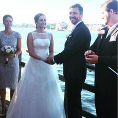 22/08/2015: Lina Hellqvist, Sofia's eldest sister married to Jonas Frejd. Princess Sofia was a bridesmaid.