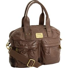 Fossil Jenner Satchel -taupe