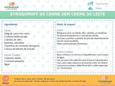 STROGONOFF DE CARNE SEM CREME DE LEITE 2