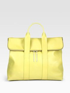 Mellow yellow with 3.1 Phillip Lim.