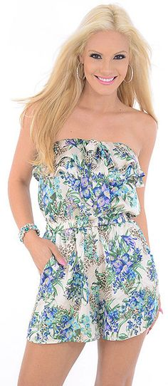 Flowers Bloom-Great Glam is the webs best online shop for trendy club styles, fashionable party dresses and dress wear, super hot clubbing clothing, stylish going out shirts, partying clothes, super cute and sexy club fashions, halter and tube tops, bell