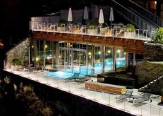 The Omnia's indoor/outdoor pool is a favourite of our clients. http://www.powderbyrne.com/ski/zermatt/the-omnia