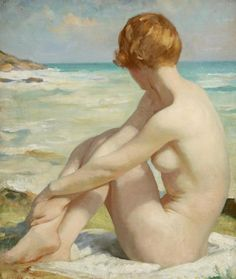 The Bather, c. 1930s - Thomas Martine Ronaldson (British, 1881-1942)