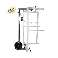 The lat pull attachment from Valor Fitness transforms the Power Rack into a complete home gym. By adding the Lat Pull you increase the variety of exercises to lat pulls, triceps, upright rows, curls, leg extensions and more. Home Gym Equipment, No Equipment Workout, Training Equipment, Easy Workouts, At Home Workouts, Workout Routines, Lat Pulldown Machine, Power Rack, At Home Gym