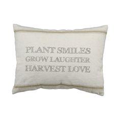 Harvest Love Throw Pillow