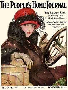 Earl Christy cover, People's Home Journal, December 1922