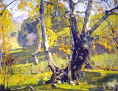 William Wendt Paintings | William Wendt