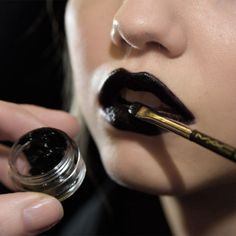 M∙A∙C for Giles Fall 2015   Dark Lips
