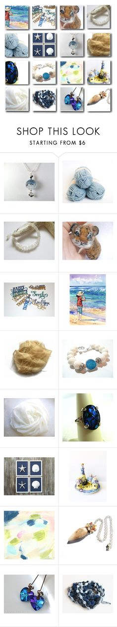 """Etsy Collage"" by rosa-shawls ❤ liked on Polyvore featuring Alpine, Anna Griffin and vintage"