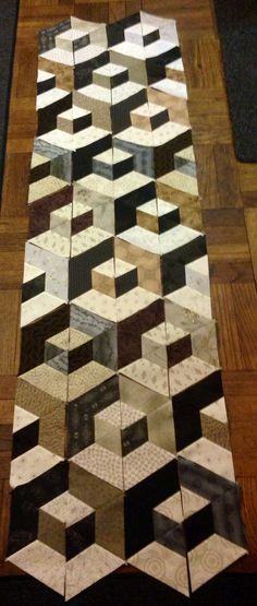 Got all the half-hexagons sewn together   by Savida