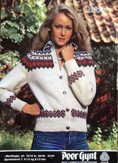 Bilderesultat for nordkapp kofte Craft Organization, Color Combinations, Christmas Sweaters, Knitting Patterns, Diva, Crochet, Knits, Design, Fashion