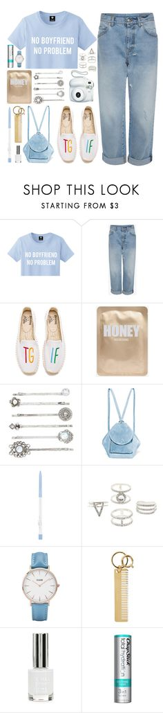 """""""No Boyfriend, No Problem.."""" by icyhot ❤ liked on Polyvore featuring Alexander McQueen, Soludos, MANU Atelier, Fujifilm, Charlotte Russe, CLUSE, Sophie Hulme, Topshop and Chapstick"""