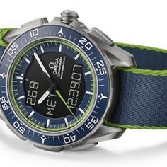 """Omega Speedmaster Skywalker X-33 Solar Impulse Limited Edition Watch"" via @watchville"