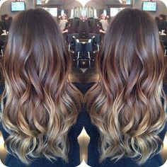 Subtle Ombre for Brunette