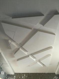 Decoration Platre, Plâtre Plafond, Plafond Design, Chambres Parentales,  Idées Pour La Maison