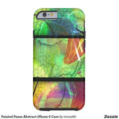 Painted Panes Abstract iPhone 6 Case