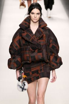 4 Ways Fendi Has Already Nailed Duvet Dressing For AW15 Kendall Jenner Walks At The Fendi AW15 Fashion Show