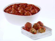 Classic Italian Turkey Meatballs Recipe : Giada De Laurentiis : Food Network - FoodNetwork.com