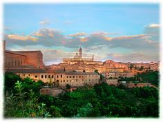 Siena, Italy...lived here for 4 months and loved every minute of it!