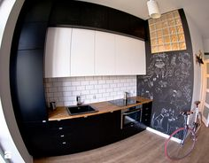 my love - Średnia otwarta kuchnia jednorzędowa, styl skandynawski - zdjęcie od MOA design
