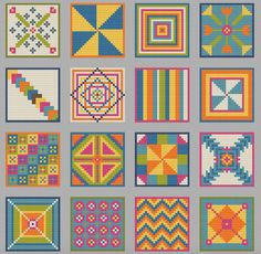 Cross Stitch Quilt  Cross Stitch Pattern  by ImaginationAdmin