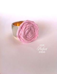 diy rose bracelet
