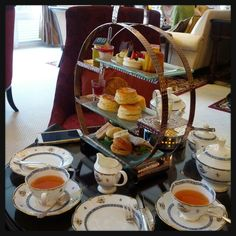 Afternoon tea at Colonial Cafe, Majestic Hotel Kuala Lumpur.