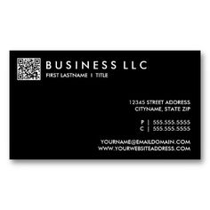 25 best notary public business cards images on pinterest business design your own qr code plain black and white business card colourmoves