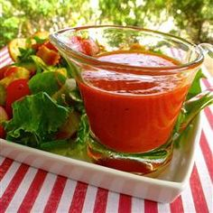 Homemade Ruby French Dressing. I made this . Never buying it again. Its that good