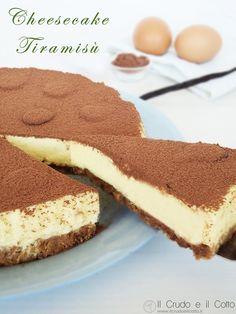 Cheesecake Tiramisù ~ Il Crudo e il Cotto torta