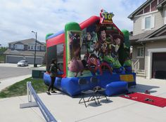Bouncy Castle - Dream Day 2015