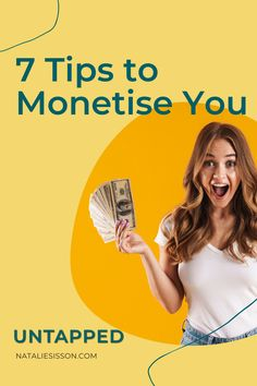 The Monetise You Summit is almost here, and I want to give you a little teaser this week on the UNTAPPED podcast! Here are 7 gems of advice to monetise you from some of the successful, powerful, phenomenal women I'm speaking to on the summit. Whether you're dreaming of being an author, blogger, podcaster, speaker or coach, this is for you. Tune in at nataliesisson.com/118 Multiple Streams Of Income, Rat Race, Making 10, Special Guest, Teaser, Gems, Advice, Author, Women