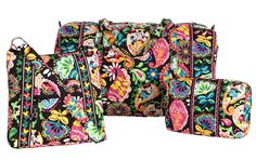 Disney Collection by Vera Bradley Coming to Walt Disney World Resort on September 21, 2013 - the perfect gift for any Disney bride or bridesmaid #VeraBradley #Disney #Collection #gift